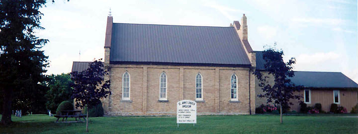 Anglican Church, Adelaide Village, Ontario